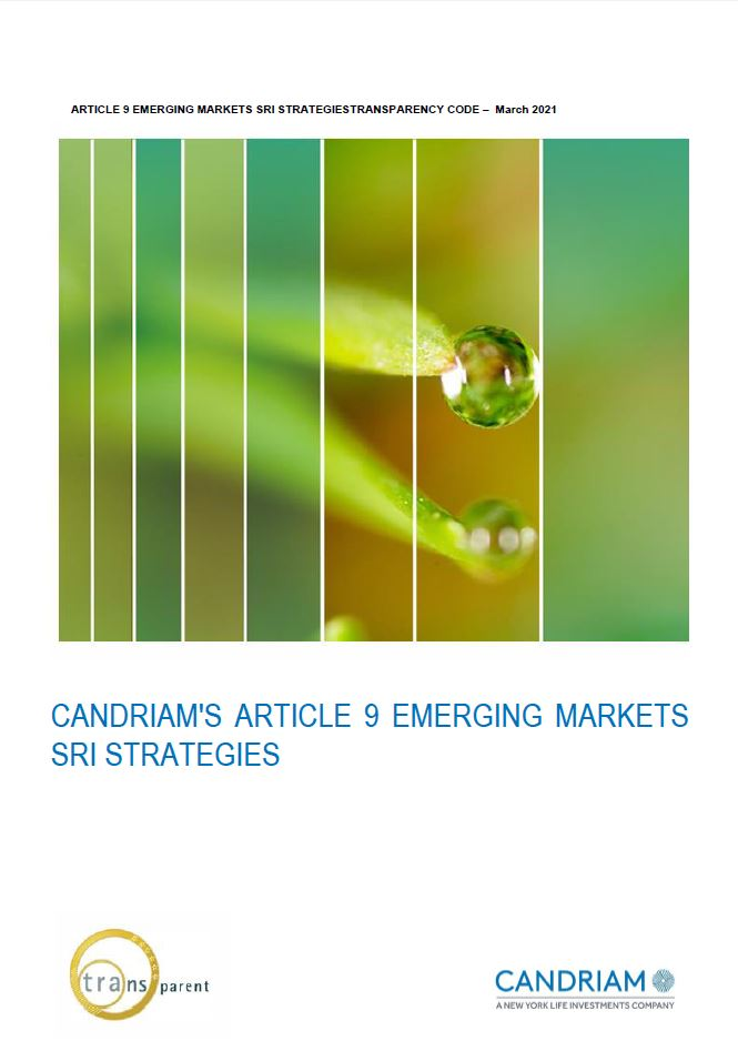 Candriam's Article 9 Emerging Markets SRI Strategies